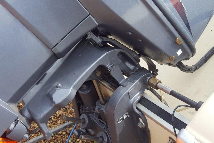Fletcher Arrowflash 15 GTO - outboard engine