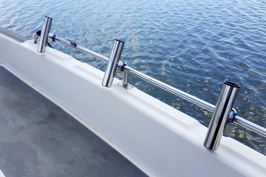 Cox 27 Family Fisher - fish rod holders