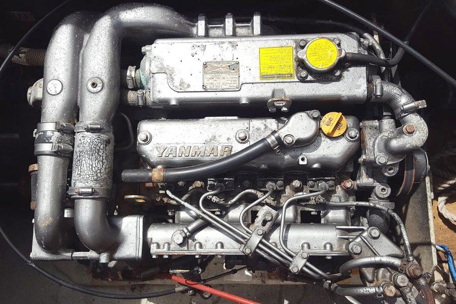 Cox 27 Family Fisher - Yanmar diesel inboard