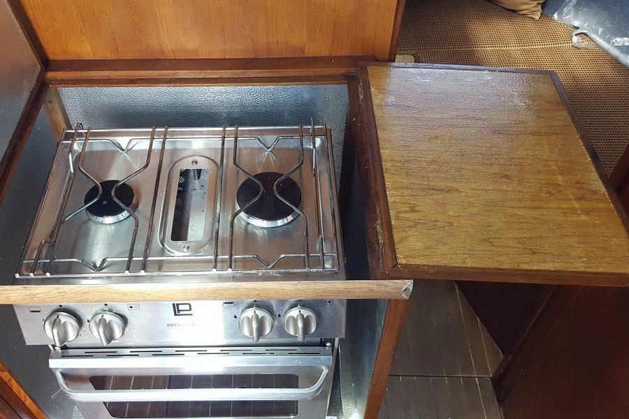 Cox 27 Family Fisher - 2 burner cooker