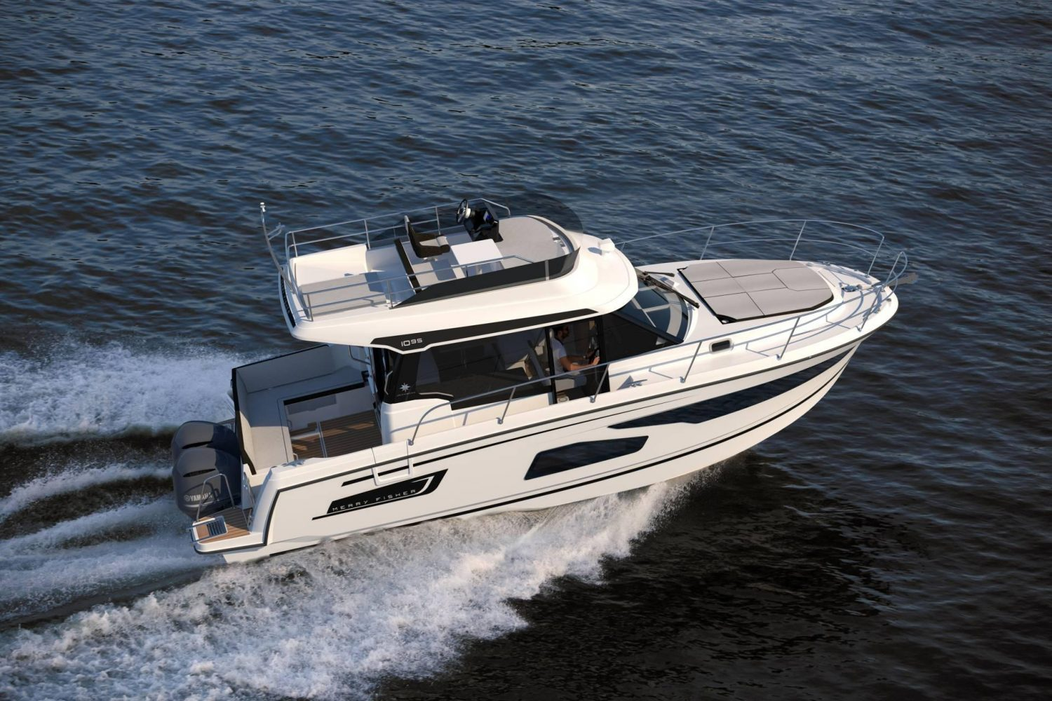 Merry Fisher 1095 Flybridge