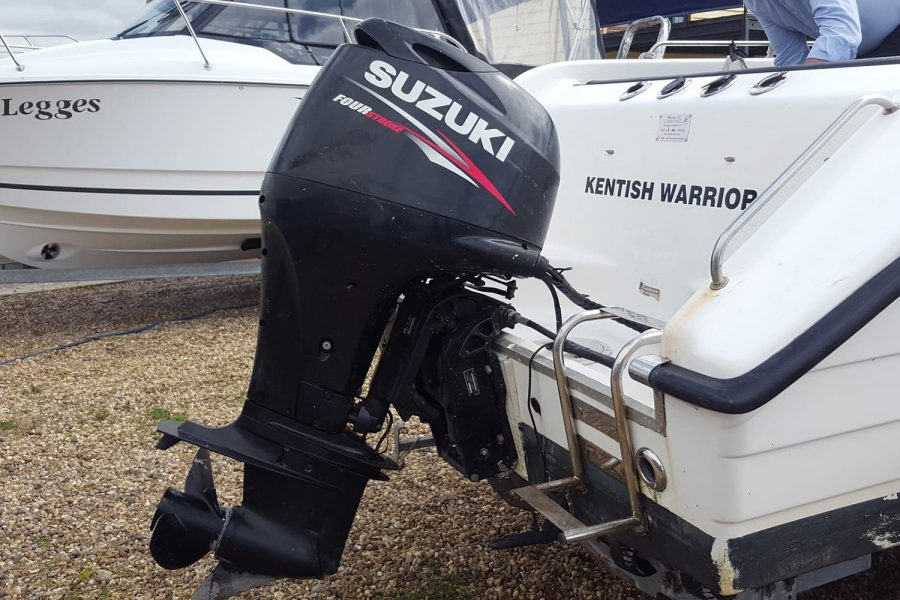 Warrior 175 fishing boat - Suzuki 80hp outboard