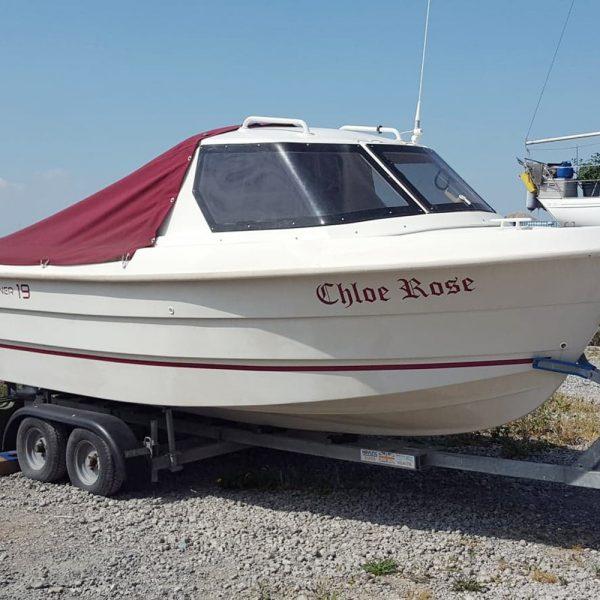 Smartliner 19 fishing boat