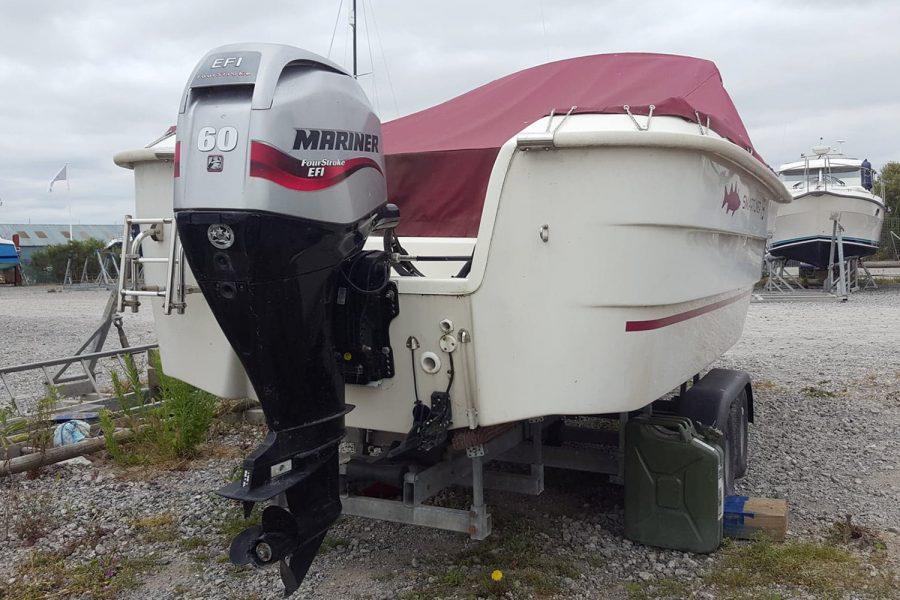 Smartliner 19 fishing boat - Mariner F60 outboard