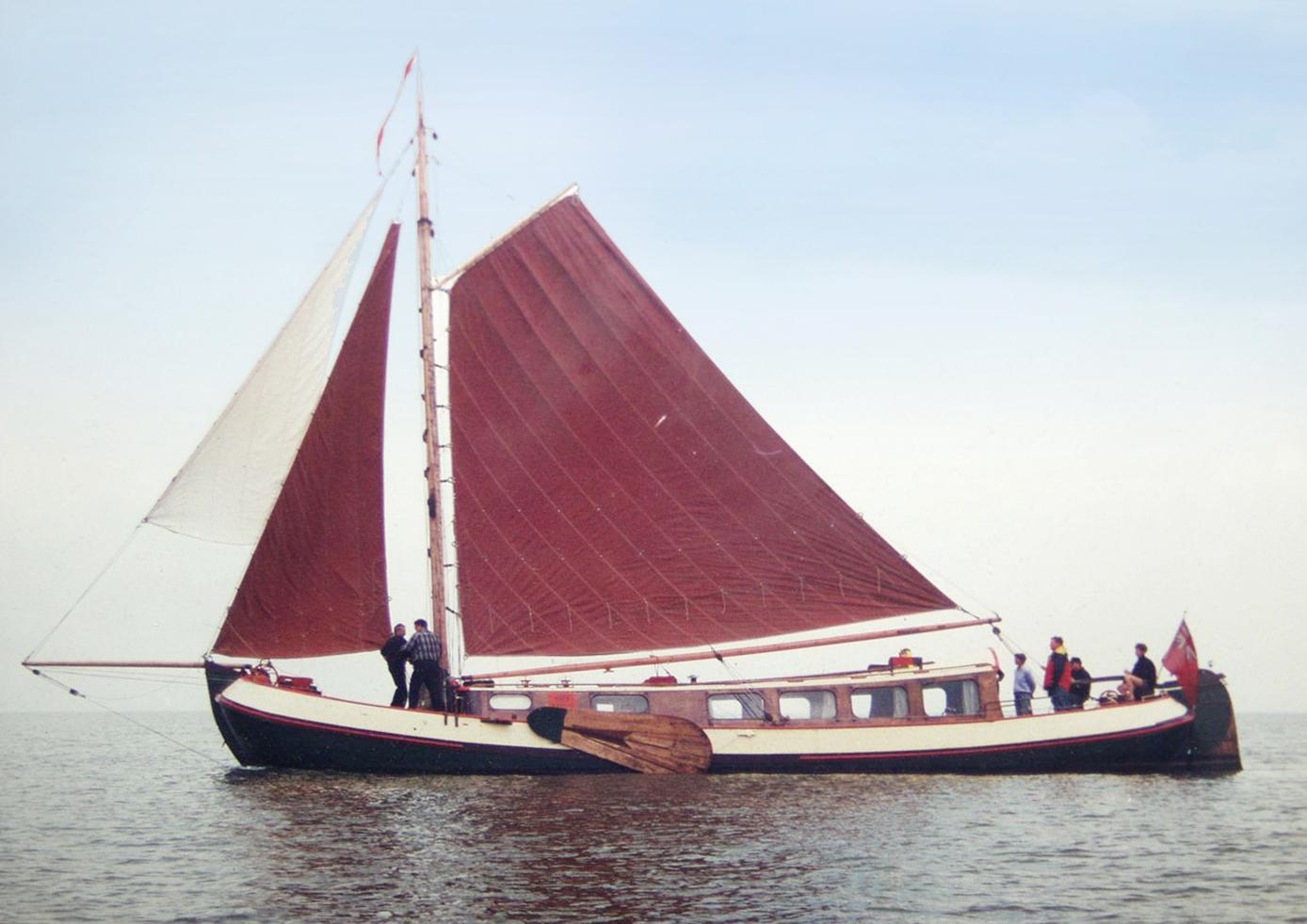 Tjalk 17m Dutch Motor Sailing Barge