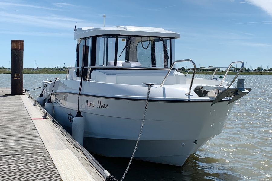 Beneteau Barracuda 7 - on pontoon at Morgan Marine