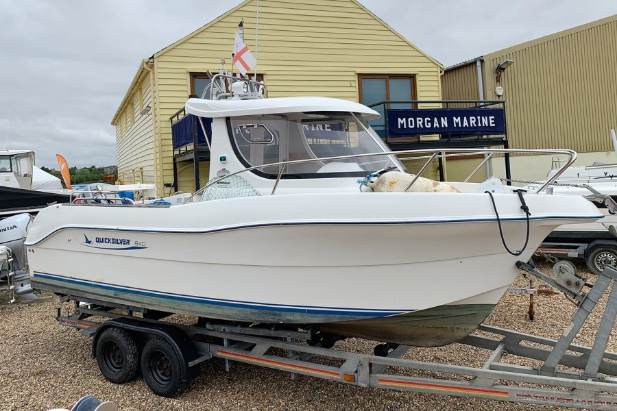 Quicksilver 640 - starboard side bow