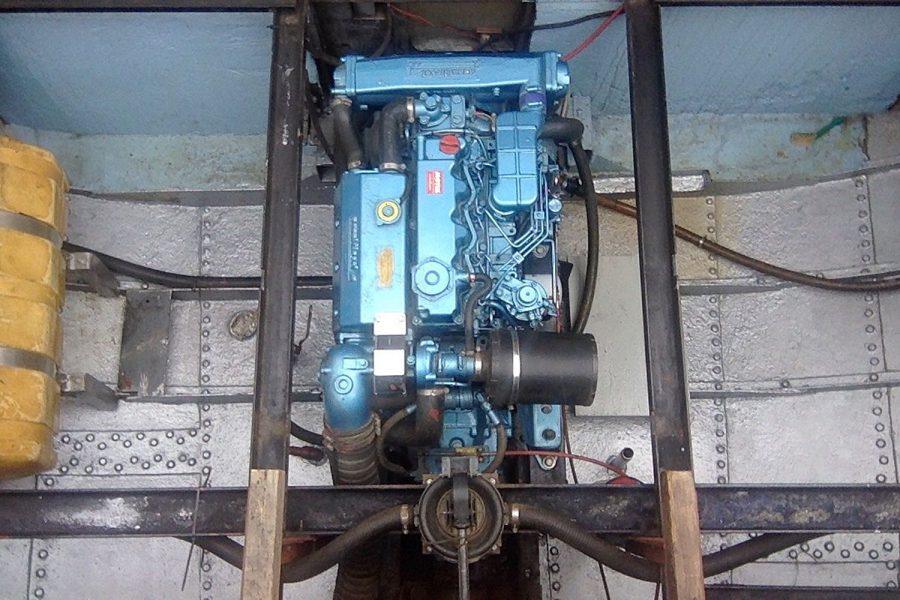 Tjalk 17m Dutch Motor Sailing Barge - Nanni inboard diesel engine