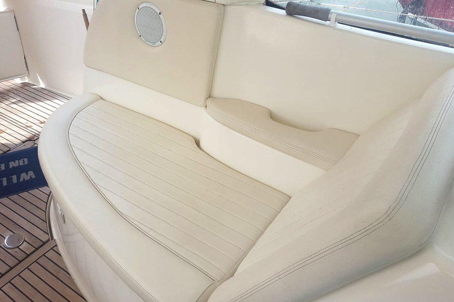 Prestige 34S - Orion - seating