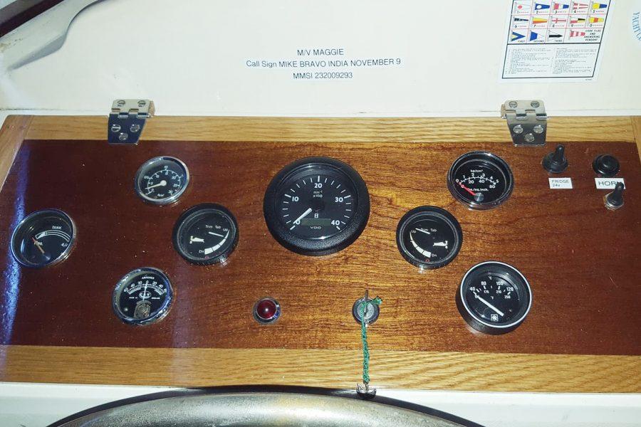 Aquabell 27 cruiser - gauges