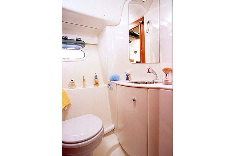 Prestige 34S - Orion - heads compartment
