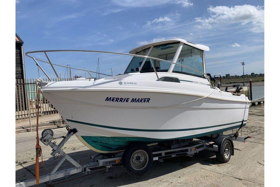 Jeanneau Merry Fisher 580 - port side
