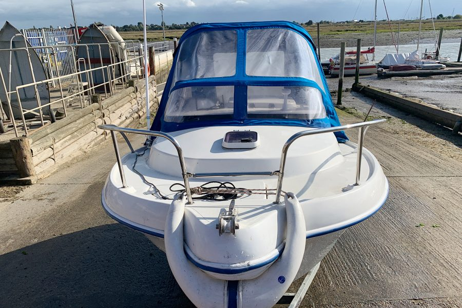 Quicksilver 450 cuddy - bow