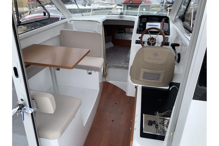 Jeanneau Merry Fisher 755 - fishing boat - wheelhouse