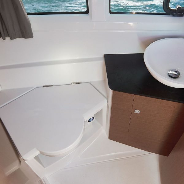 Jeanneau Merry Fisher 895 Legend Offshore - head compartment