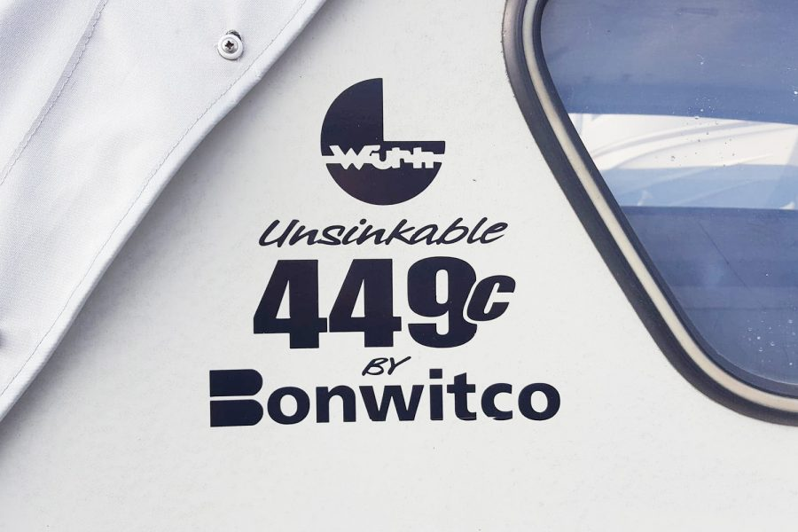 Bonwitco 449c Cabin Cruiser - decal