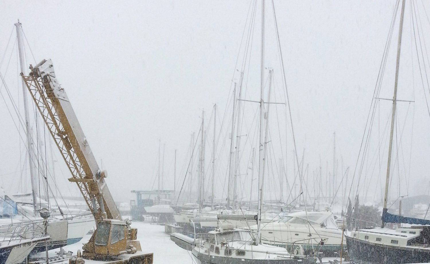 Winterisation at Morgan Marine
