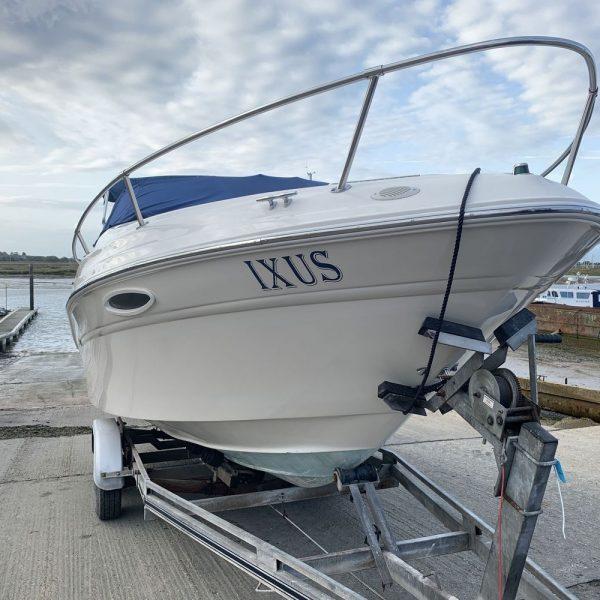 Sea Ray 215 - Ixus - bow and trailer