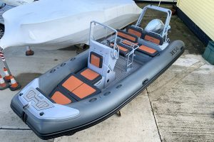 Highfield H54 RIB with Honda BF 100 XRTU
