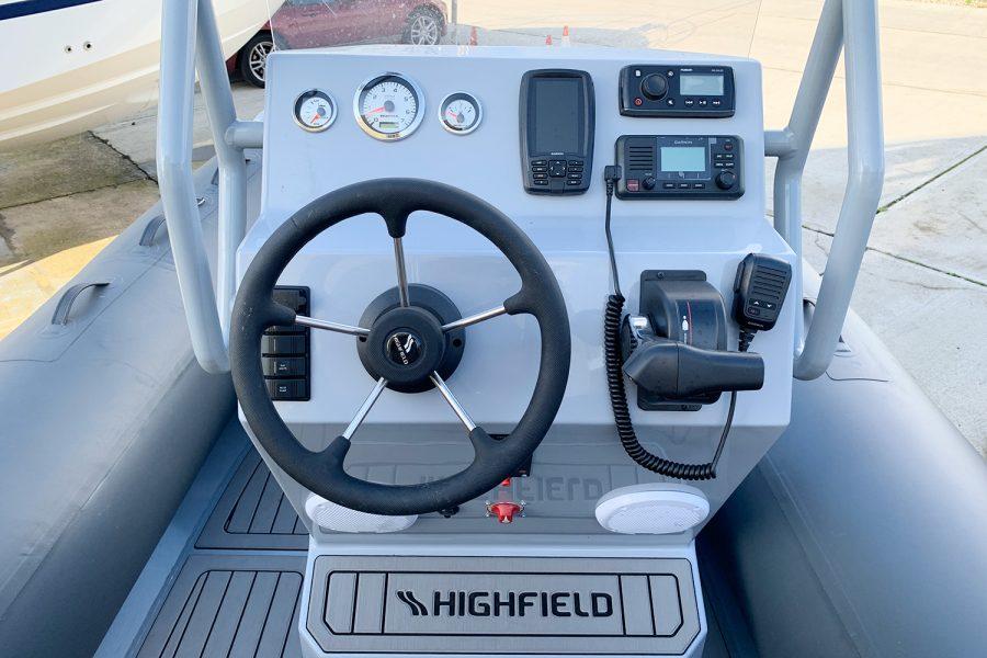 Highfield H54 RIB helm