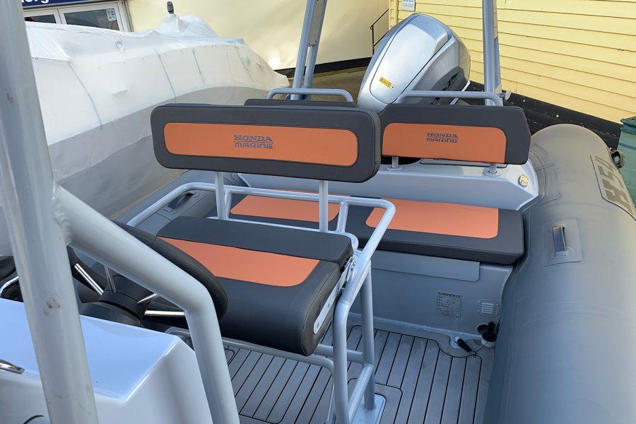 Highfield H54 RIB seats