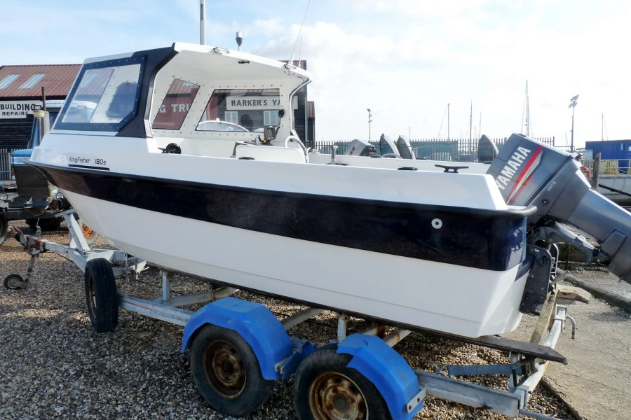 Kingfisher 180S Fast Fisherman - port side aft