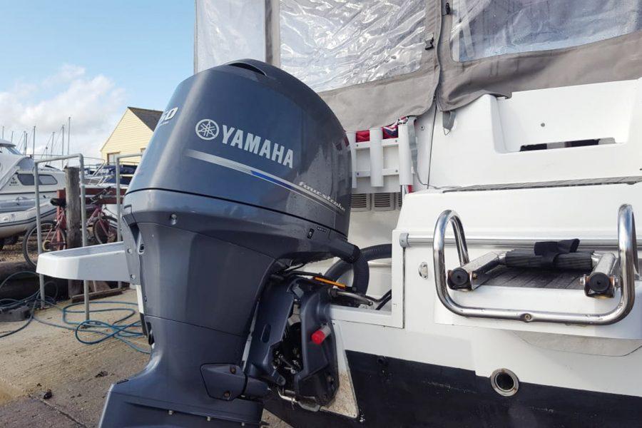 Jeanneau Merry Fisher 755 - yamaha 150 outboard