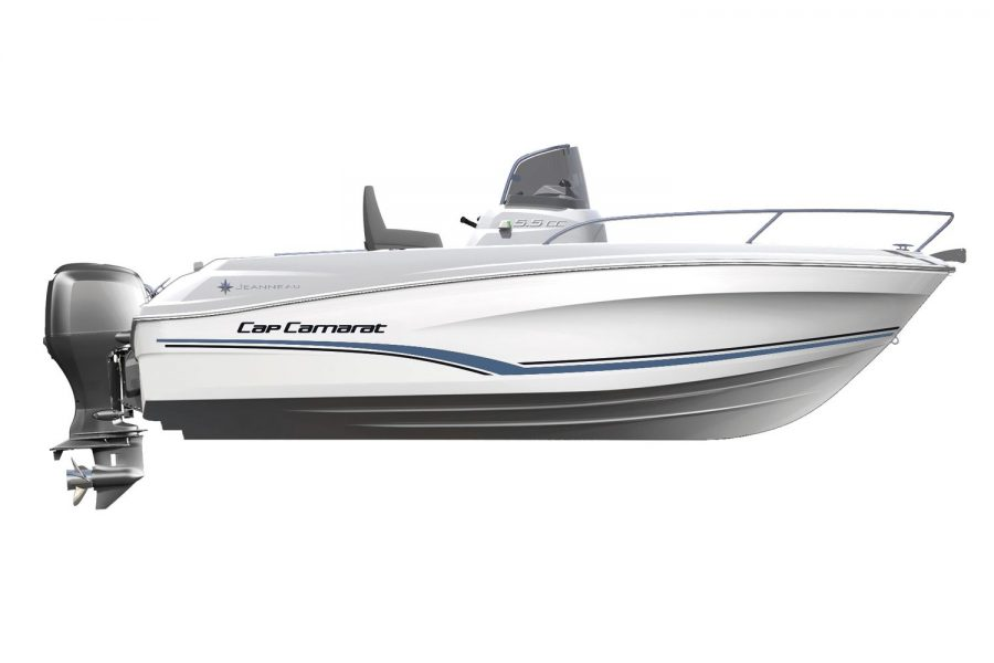 Jeanneau Cap Camarat 5.5 CC - side view diagram