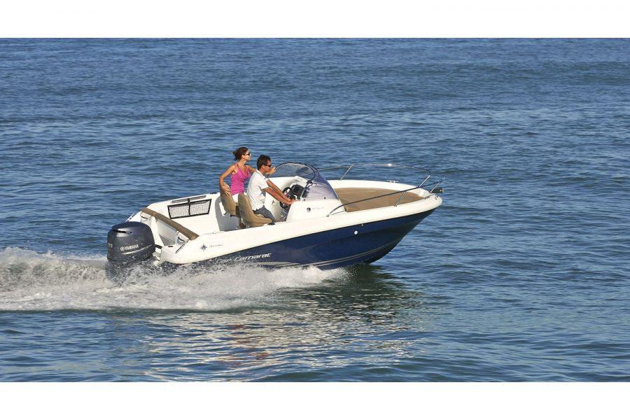 Jeanneau Cap Camarat 5.5 WA - on the water