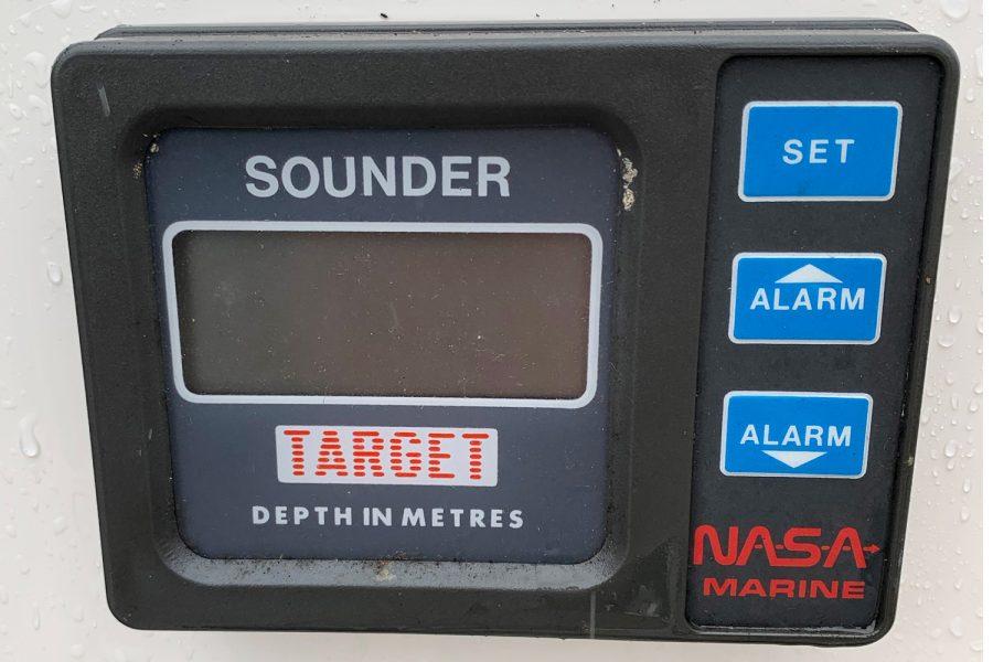 Fletcher Sports Cruiser 18 GTS - Nasa depth sounder