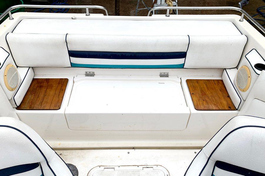 Fletcher Sports Cruiser 18 GTS - aft cockpit
