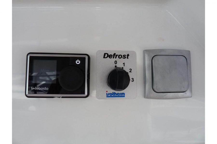 Jeanneau Merry Fisher 855 - Webasto heating controls
