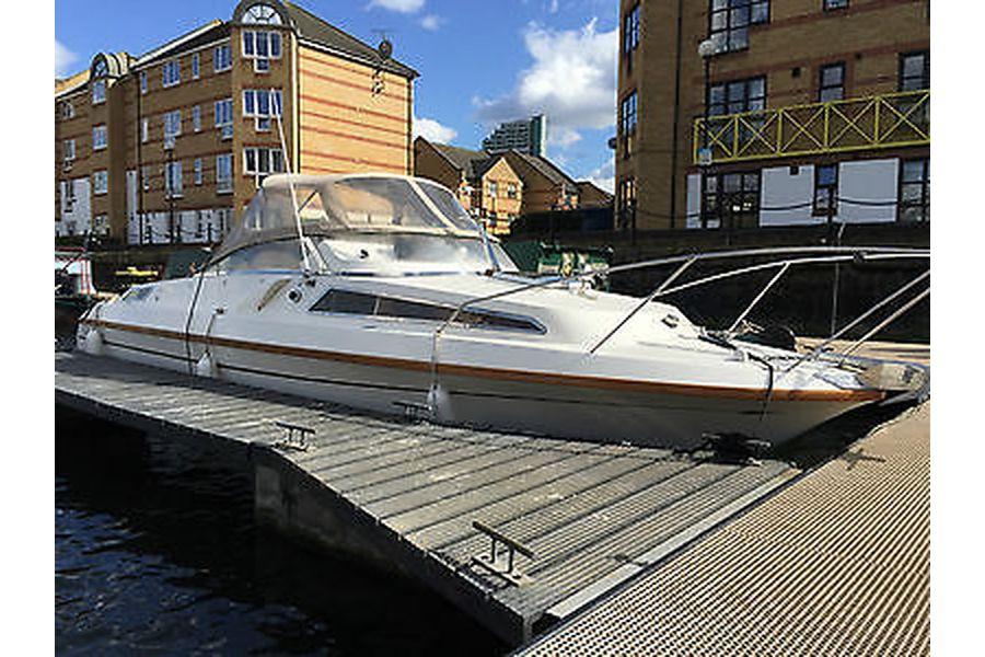 Talisman 27 - starboard side