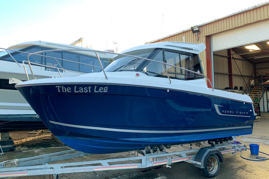 Used 2018 Jeanneau Merry Fisher 605 Legend - at Morgan Marine