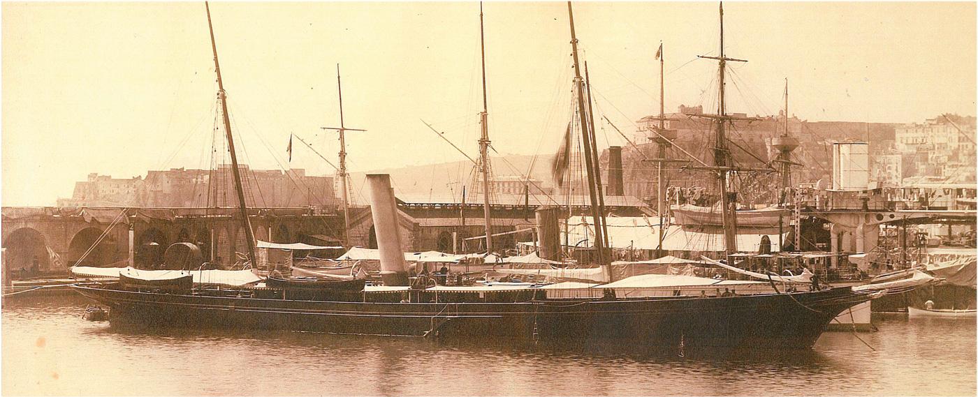 Bayard Brown's yacht Valfreya