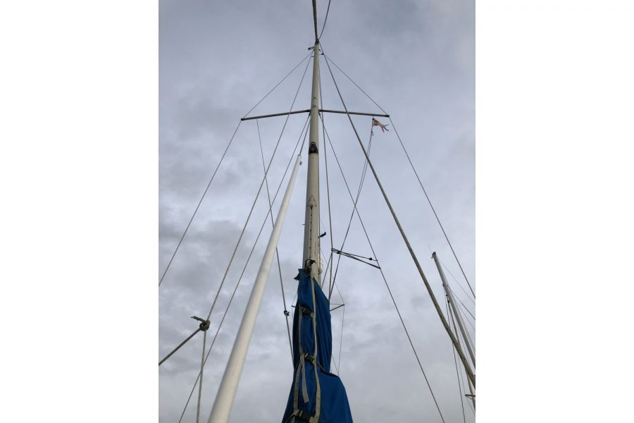 Westerly Pentland Ketch - rigging