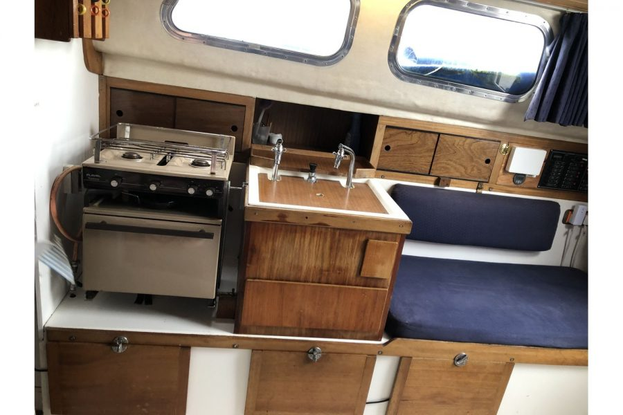 Westerly Pentland Ketch - galley