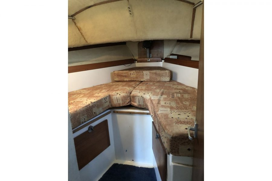 Westerly Pentland Ketch - forward double berth cabin