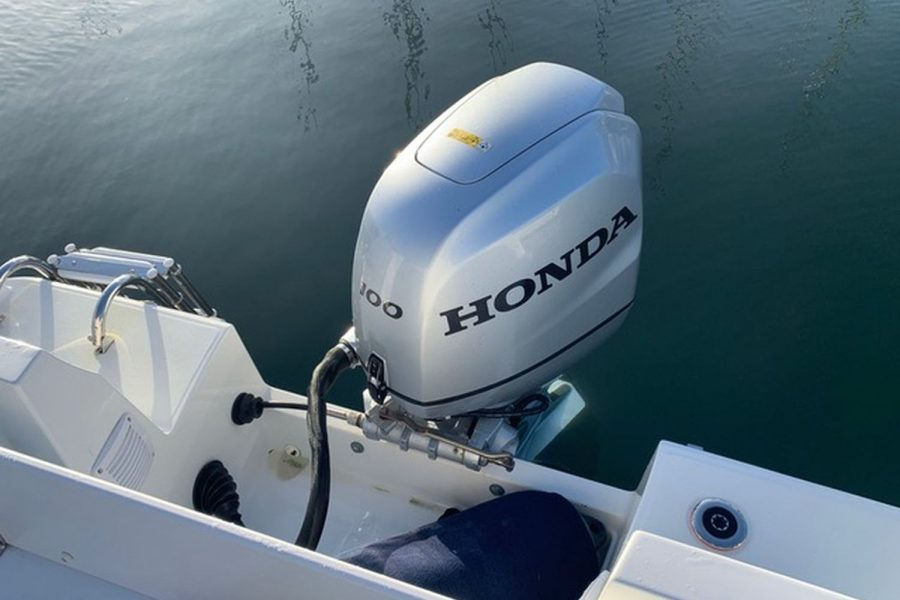 Used 2018 Jeanneau Merry Fisher 605 Legend - Honda BF 100 outboard