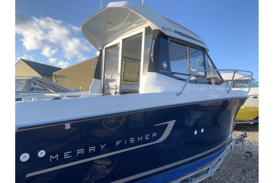 Used 2018 Jeanneau Merry Fisher 605 Legend - starboard side