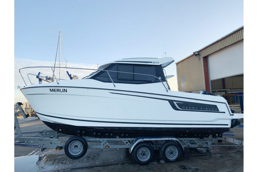Jeanneau Merry Fisher 695 – Purchased May 2019
