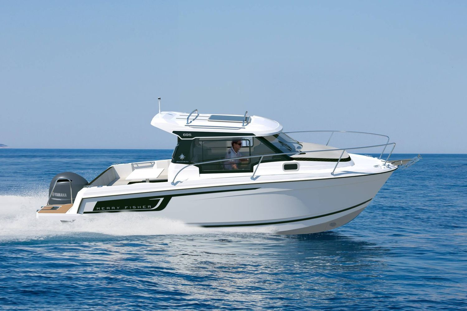 Jeanneau Merry Fisher 695 - on the water