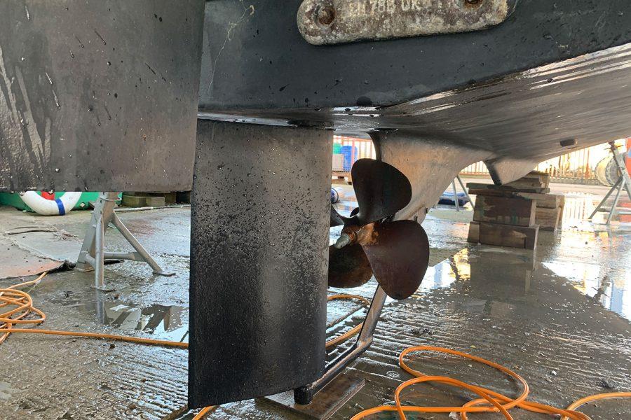 Nimbus 30c boat - shaft drive