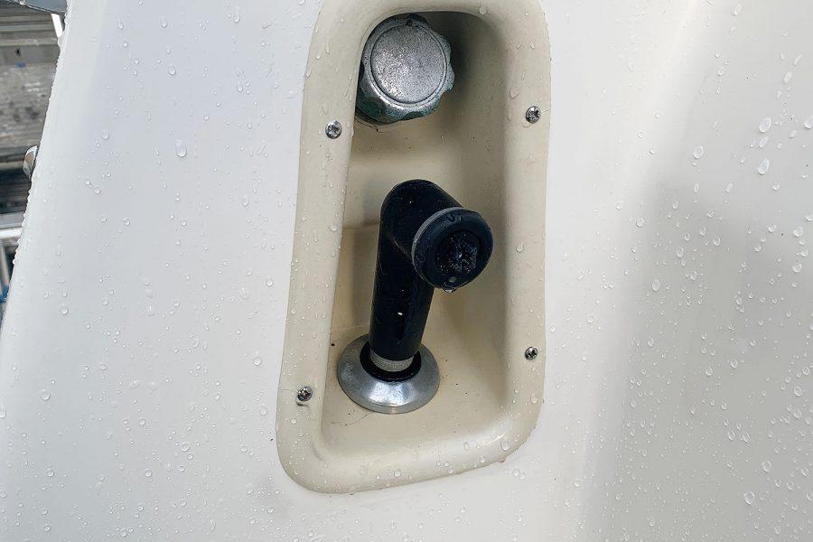 Nimbus 30c boat - shore power connection