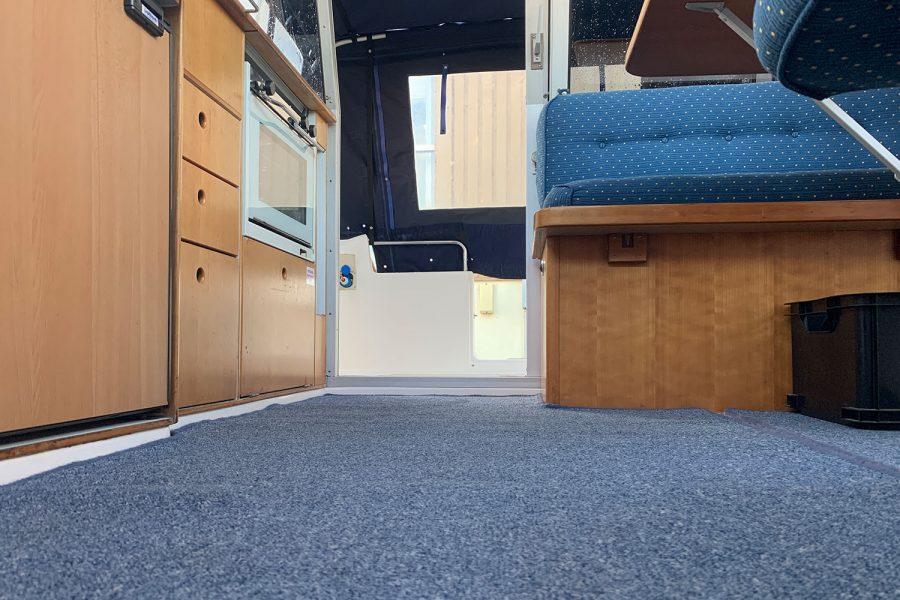 Nimbus 30c boat - wheelhouse carpet