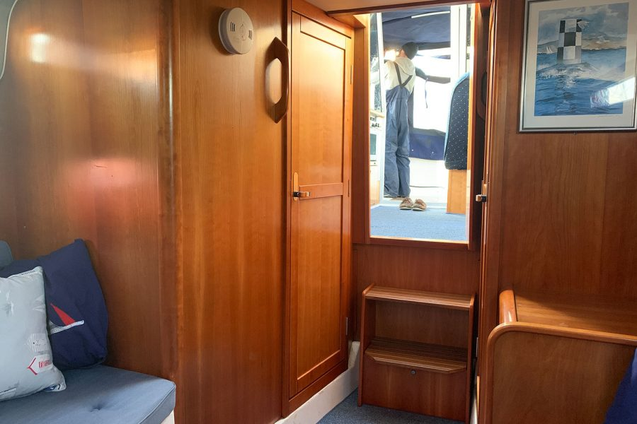 Nimbus 30c boat - view from cabin
