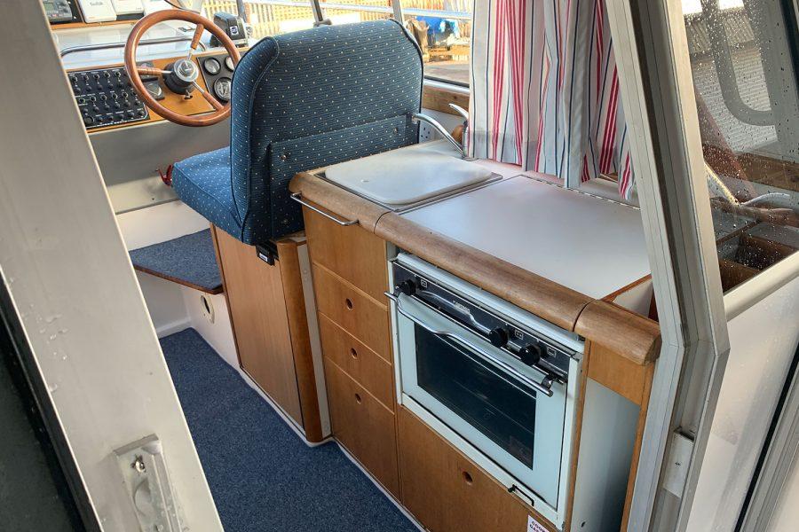Nimbus 30c boat - galley