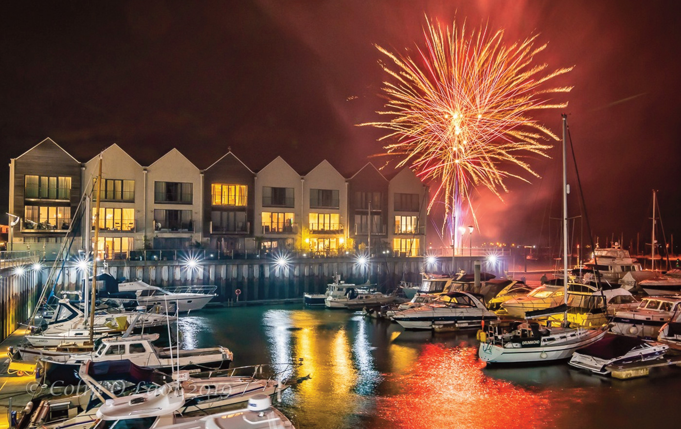 Brightlingsea Regatta Fireworks