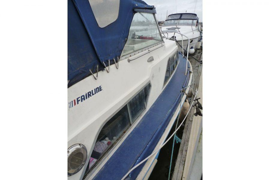 Fairline Fury 24wide side decks