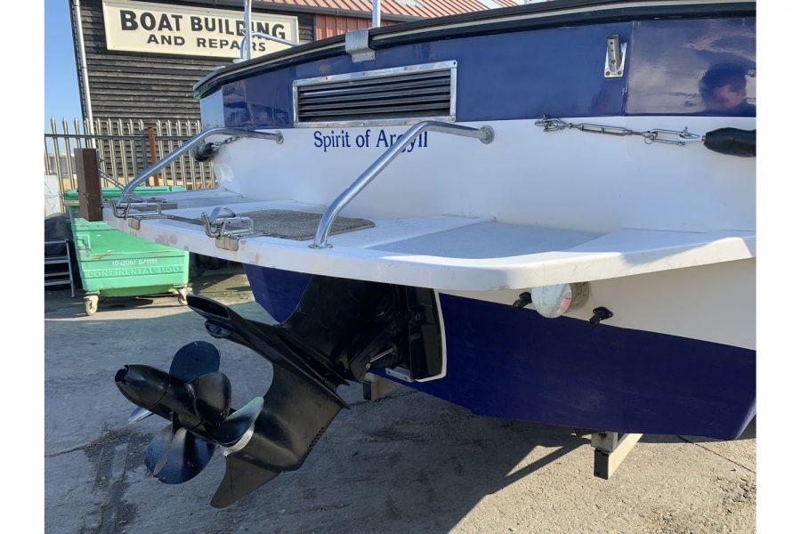 Hardy Fisherman 24 Extended Wheelhouse - Volvo sterndrive